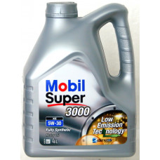 Моторное масло Mobil 5W30 SUPER 3000 XE GSP 4L