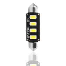Gaismas diodes - LED C5W SV8.5 41mm 4xSMD5730 Canbus 12V (1.gb.) LB335W