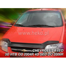 Авто дефлектор капота CHEVROLET AVEO 4d htb 2004r. →, sedan → 2006r (limējamais) art. 02106