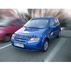 Авто дефлектор капота CHEVROLET AVEO 4d htb 2004r. →, sedan  →2006r (limējamais) art. 02065