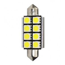 Gaismas diodes - LED C5W SV8.5 41mm 8xSMD5050 Canbus 12V (2.gb.) LB327W